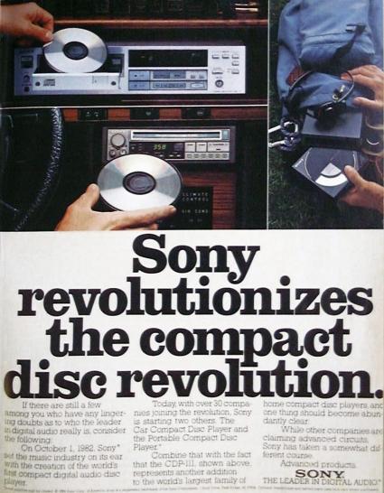 Sony CDs