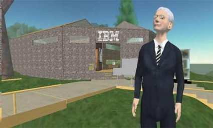 IBM_second-life-huelga