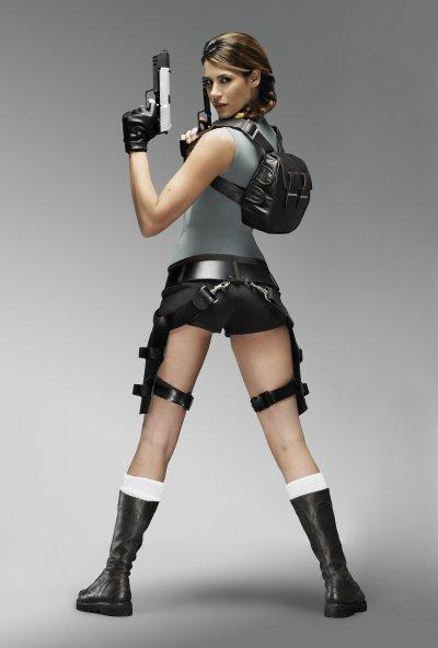 Karima Adebibe Lara Croft Anniversary 1