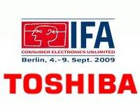 Las novedades de Toshiba en IFA 2009