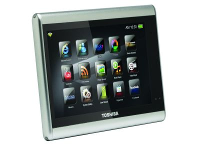 JournE touch, nuevo tablet multimedia de Toshiba
