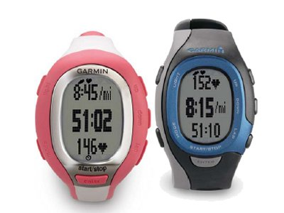Garmin FR60 (azul, rosa y negro): deporte con estilo para él y para ella