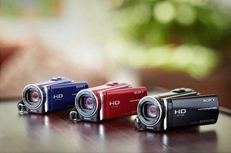 """Nueva gama Handycam de Sony """"Primavera 2010"""""""