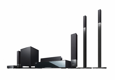 Sony BDV-IZ1000W, listo para reproducir 3D HD desde Blu-ray