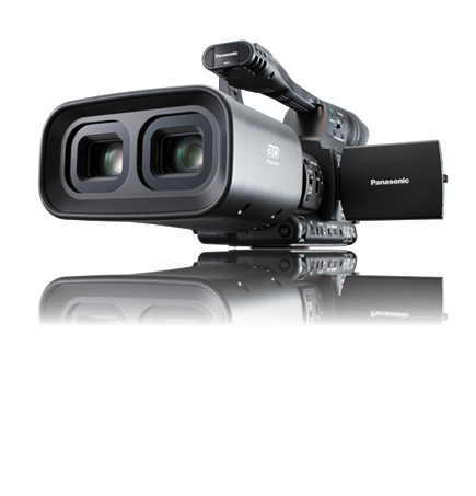 Videocámara 3D de Panasonic