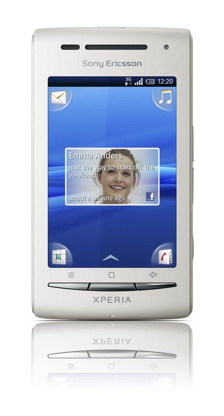 Movistar actualiza el Sony Ericsson X8 a Android 2.1