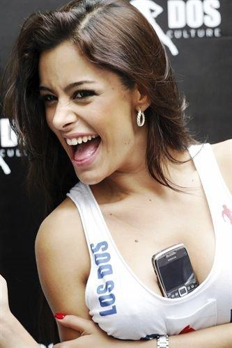 Larissa Riquelme ficha como modelo de Nokia