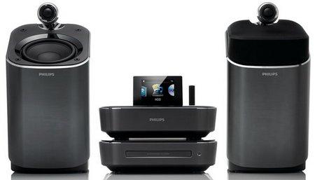 microcadenas Hi-Fi con SoundSphere Philips