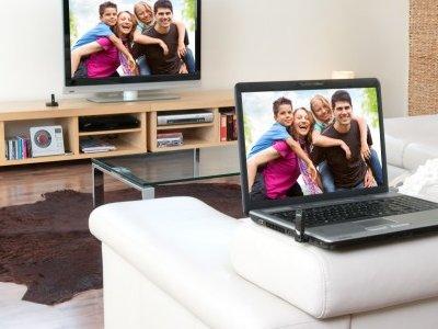 Conecta el ordenador a la tele sin cables