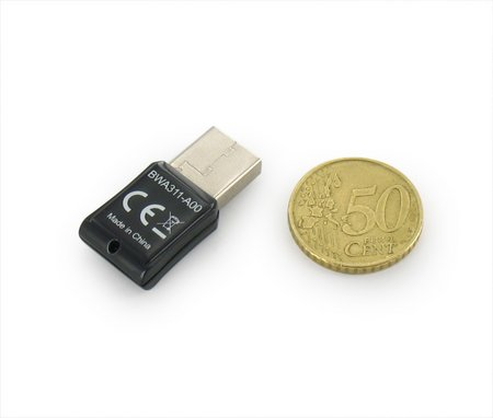 BeeWi lanza un mini-pendrive WiFi del tamaño de una moneda