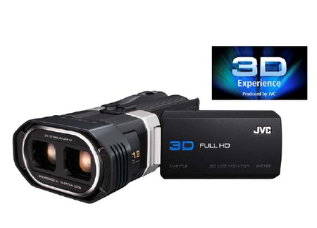 CES 2011: JVC GS-TD1, videocámara con grabación Real 3D Full HD