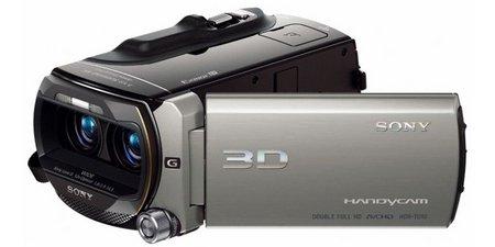 Sony presenta la nueva cámara de vídeo que graba en 3D