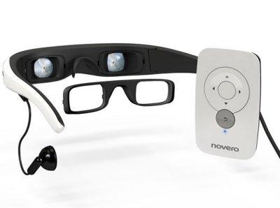 Conecta a tu iPhone unas gafas con con pantallas integradas