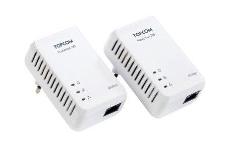 Topcom trae a España su nueva gama de soluciones Powerlan