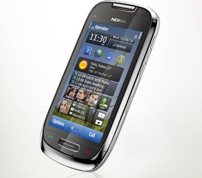 Tecnología de punta con el Nokia C7