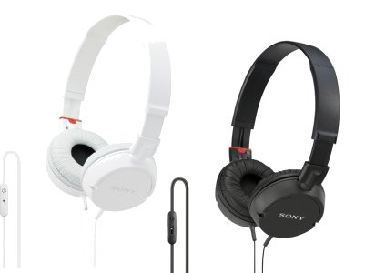Auriculares Sony DR-ZX103USB y DR-ZX102DPV