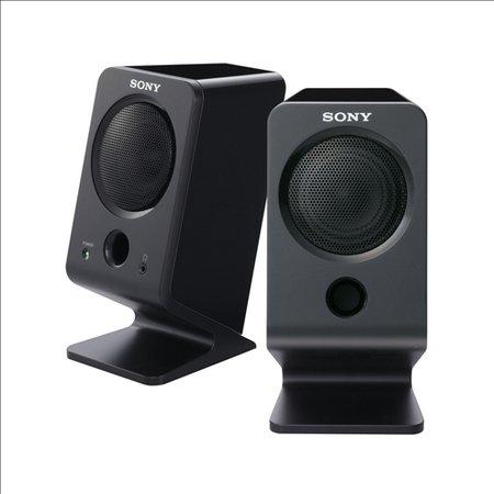 Altavoces Sony SRS-A3 para PCs, compactos con graves intensos