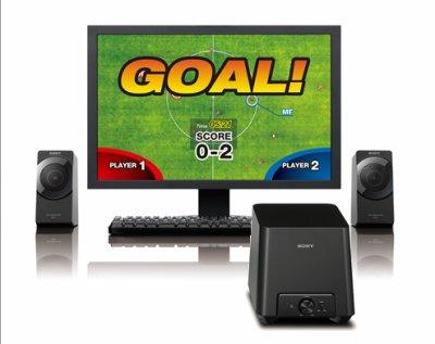 Altavoces Sony SRS-D4 para PC, calidad 2.1 con 27W de potencia