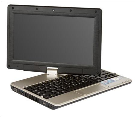 Netbook convertible Gigabyte T1005M