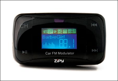 Zipy Silverstone, para oír toda tu música en tu coche con tu car transmiter