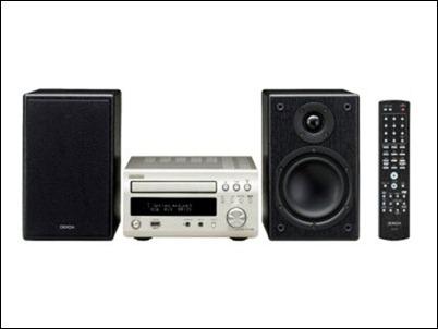 Denon DM38, micro sistema de audio con entrada directo para el iPhone