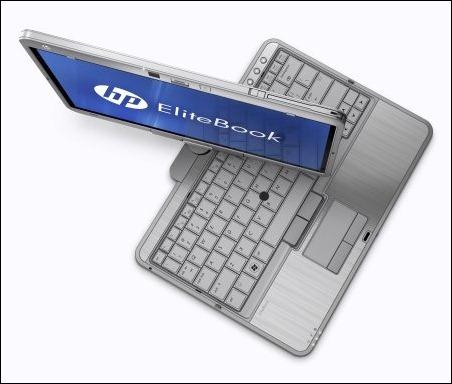HP EliteBook 2760p, el portátil convertible en tablet
