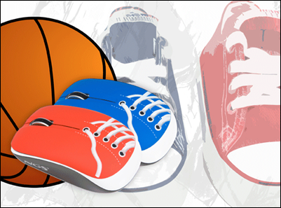 &iquest;Jugamos al baloncesto?, Sneaker &amp; Sneaker Wireless, los ratones m&aacute;s deportivos