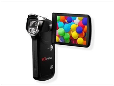 Naical lanza una videocámara doméstica que graba en 3D por 250 euros