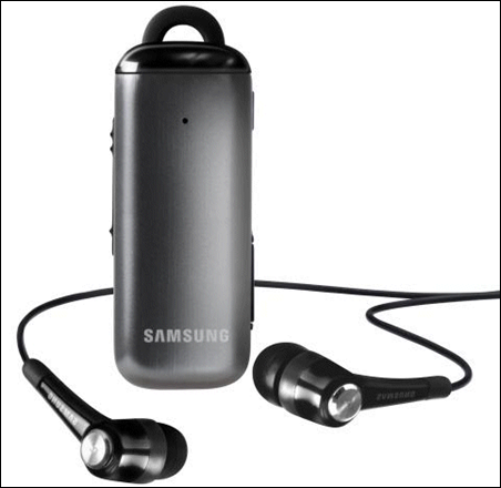 Samsung HM3700, un Headset bluetooth compatible con aps. Android