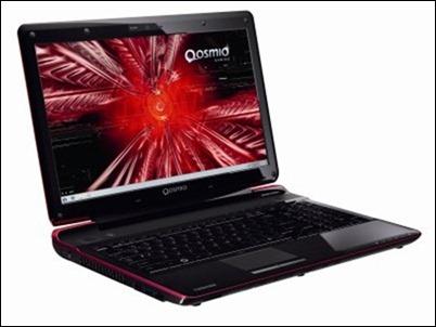 Qosmio F750 3D de frente