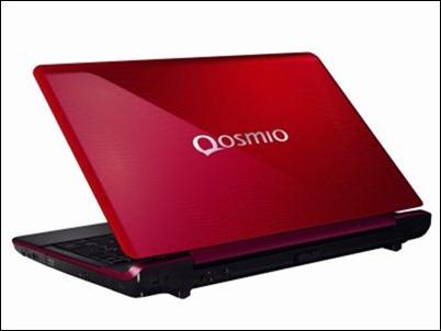 Qosmio F750 3D detras