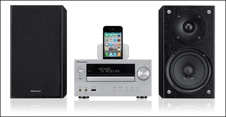 Sistemas de audio de Pioneer compatibles con el iPhone