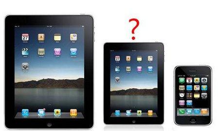"""Más rumores sobre el posible """"iPad mini"""""""