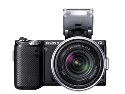Sony NEX-5N ultra-sensible y compacta, con 16'1 megapíxeles y vídeo Full HD 50p