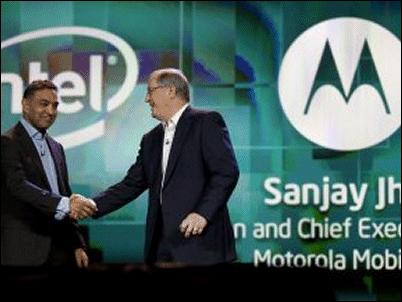 Motorola y Lenovo usarán chips Intel en sus teléfonos