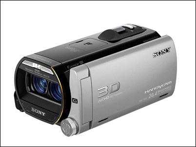 HDR-TD20VE, la Handycam 3D Full HD más pequeñas y potentes