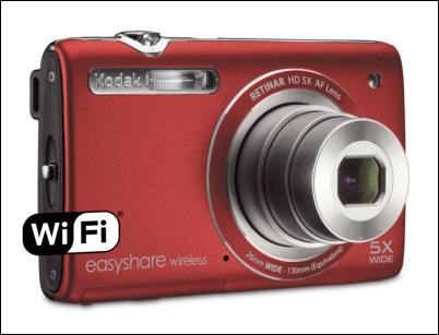 Kodak Easyshare M750, cámara con conectividad Wi-fi