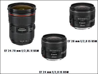 Canon lanza tres nuevos objetivos: prestaciones de alto nivel e incomparable flexibilidad