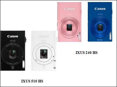 Canon IXUS 510 HS e IXUS 240 HS, para hacer fotos y compartirlas con estilo