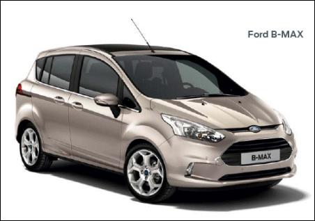 Ford B-MAX, tecnología punta