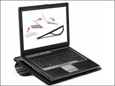 Fellowes, soporte para portátil plegable
