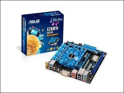 CES 2013: ASUS E2KM1I-DELUXE: placa base para sistemas PC de cine en casa