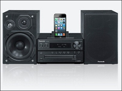 Sistema Hi-fi Micro PMX7 de Panasonic, musica en streaming desde Android o iPhone
