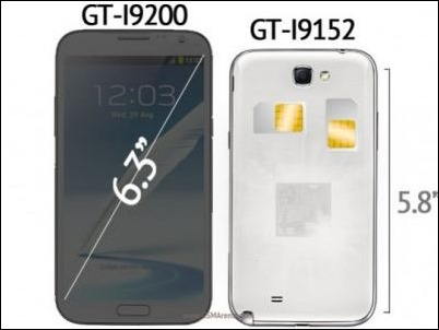 """Samsung anuncia oficialmente su línea de teléfonos """"Mega"""" de 5.8 y 6.3 pulgadas"""