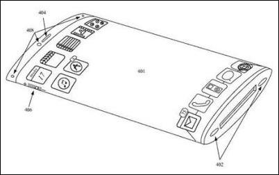 Apple consigue una nueva patente sobre un dispositivo 3D sin botones