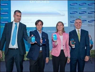 Telefónica distribuirá el Samsung Galaxy S4 en Europa y América Latina