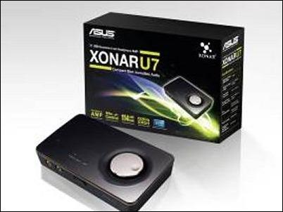 ASUS Xonar U7 USB: una tarjeta de audio externa con un amplificador de auriculares