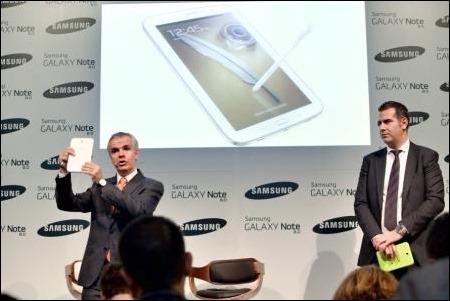 Samsung Galaxy Note II con pantalla de 8 pulgadas y desde 419 euros