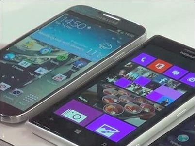 Comparamos el Nokia Lumia 925 con Samsung, iPhone y Blackberry,