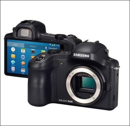 GALAXY NX, la primera cámara de objetivos intercambiables con conectividad 3G/4G LTE y Wi-Fi